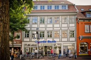 Außenansicht der Geschäftsstelle Göttingen