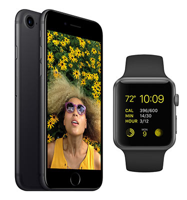 Gewinne: iPhone 7 und Apple Watch Series 2