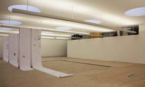 Ausstellungsansicht: Städtische Galerie KUBUS: Freispiel #4, projektKLUB. Foto: Sven Kanclerski.