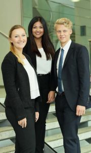 Von links: Annika Kudrisch, Thanh Thao Tran und Morten Frerichs