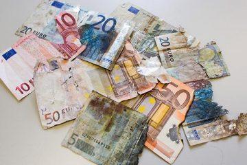 Beschädigte Geldscheine – was nun?