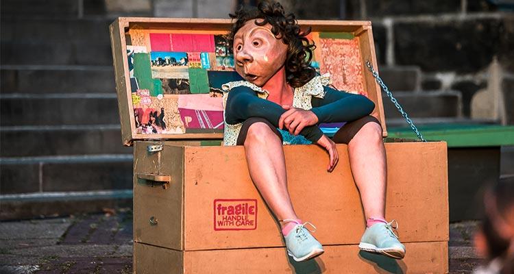 """Straßenkünstler aus aller Welt beim """"Pflasterzauber"""""""
