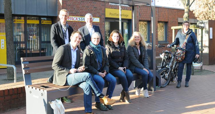 Neu in Langenhagen: Sitzen, surfen, E-Bike laden